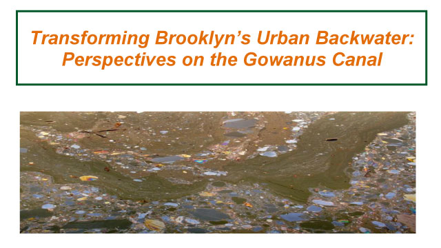 Transforming Brooklyn's Urban Backwater: Perspectives on the Gowanus Canal