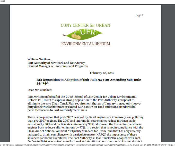 CUER comments on Clean Truck Plan Modification.pdf (1)