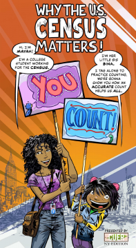 Mayah's Lot: Why the U.S. Census matters! Credit: Rebecca Bratspies
